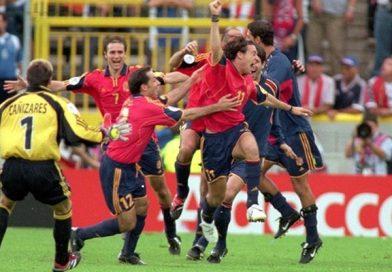 21 GIUGNO 2000 | Alfonso è l'eroe Spagnolo per la qualificazione