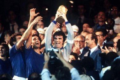 11 LUGLIO 1982   L'Italia torna sul tetto del Mondo battendo ancora la Germania