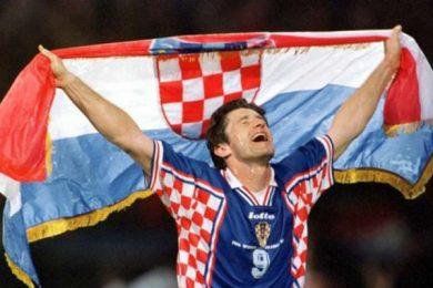 11 LUGLIO 1998   Davor Suker è il bomber di Francia 98